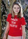 Tričko Dance For People - Červené